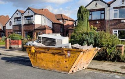 Skip hire for DIY projects