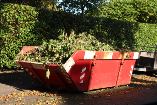 Hiring a skip for your garden project in Chorley