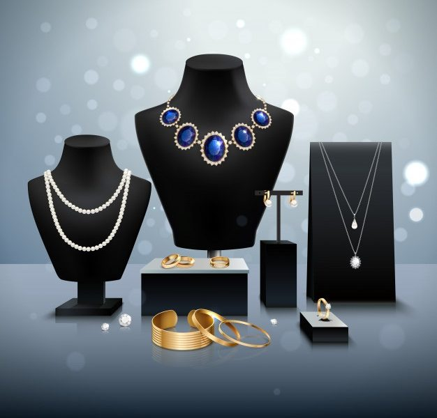 Types of jewelry display stands